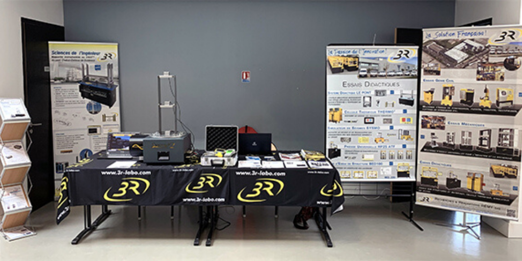 Stand Société 3R 37èmes Rencontres Universitaires de Génie Civil