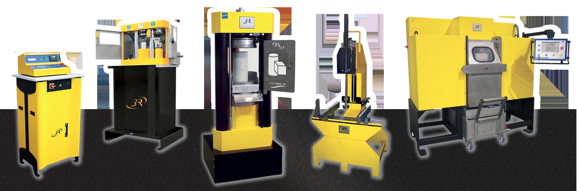 3R machines d'essais sur matériaux